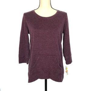 Style & Co Sport Plum Sweatshirt